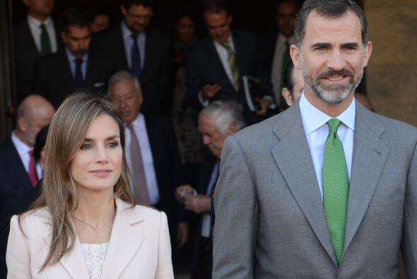Los Príncipes de Asturias realizaron una visita oficial a Estados...