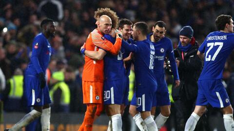 Chelsea y Norwinch igualaron 1-1 en el tiempo reglamentario