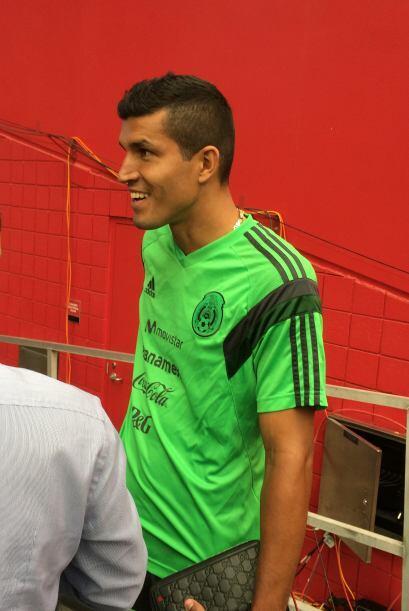 """El """"Maza"""" Rodríguez mostró gran sentido del humor al hablar con los medios."""