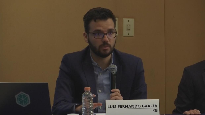 Luis Fernando García, director de R3D, Red en Defensa de los Derechos Di...