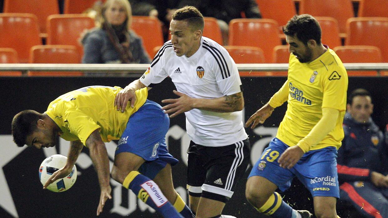 Valencia 1-1 Las Palmas: Un empate con sabor a victoria para los canarios