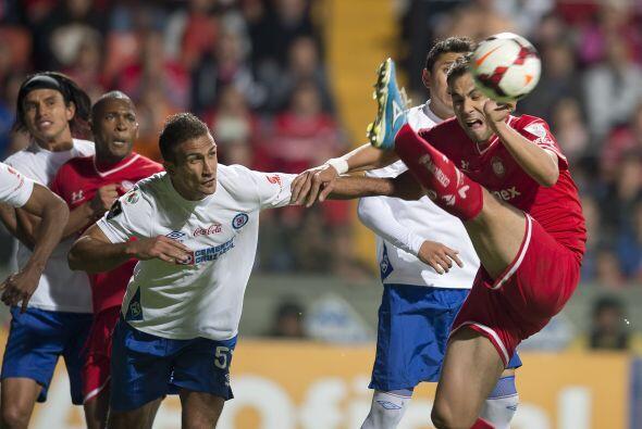 Pablo Velázquez tuvo al minuto 94 la posibilidad de darle el triunfo a s...