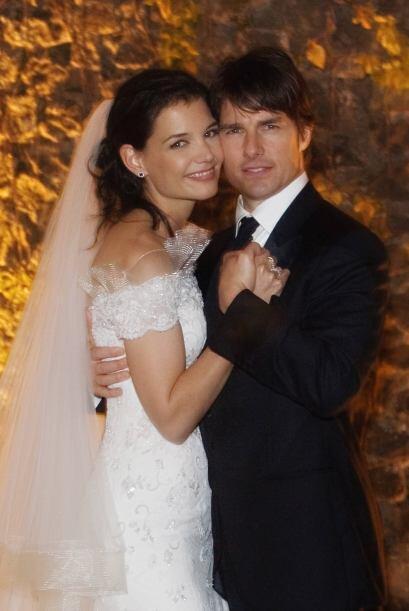 Pero tiempo después, el actor contrajo matrimonio con Katie Holmes y de...