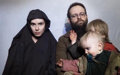 Una pareja canadiense-estadounidense secuestrada en Afganistán en 2012 p...