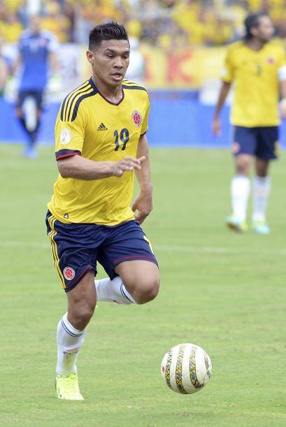 El técnico de los colombianos lo tiene muy considerado en el ataque cafe...