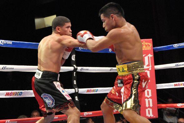 Juan Manuel Lopez trató de reaccionar al contragolpe.