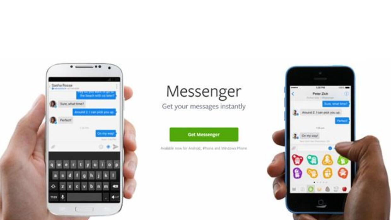Ahora sólo se podrá chatear en Facebook con la aplicación del Facebook M...