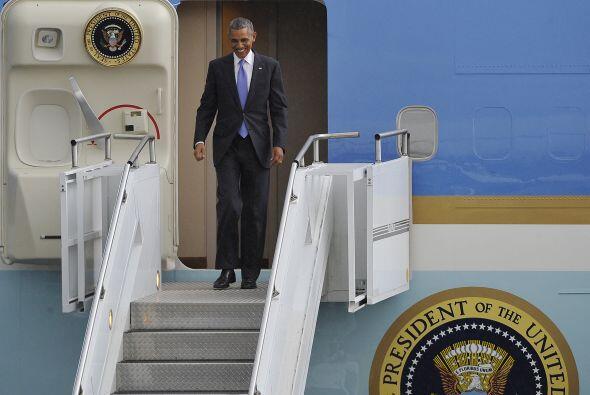 Es el primer mandatario estadounidense en visitar la segunda nación más...