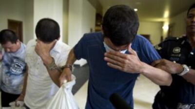 Un juez los condenó a morir en la horca por tráfico de drogas.