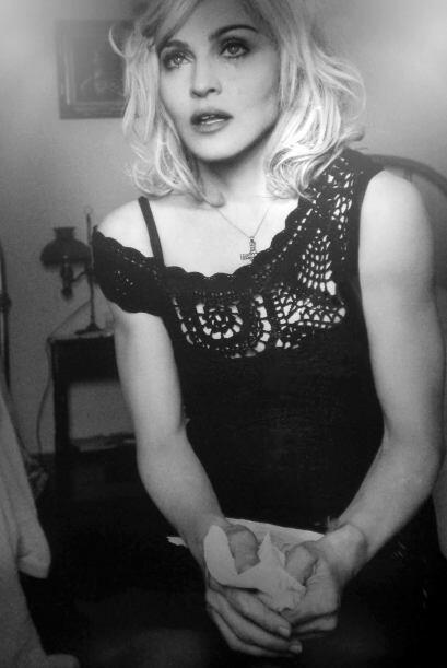 La sesión fotográfica cortó la cabeza a Madonna, no fuimos nosotros. Est...
