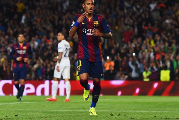 Antes de finalizar la primera mitad, el Barcelona se puso 2-0 sobre el P...