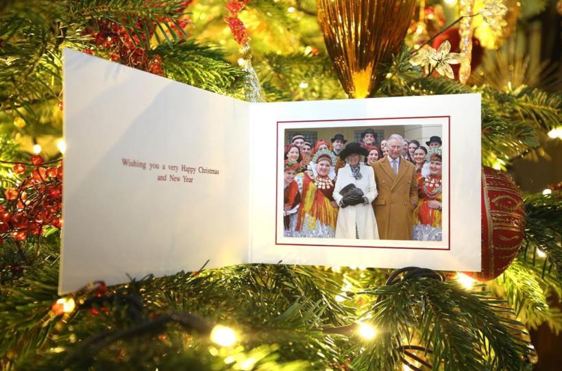 Tarjeta navideña Prince Charles