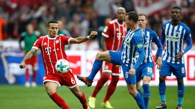 Hertha acrecenta la crisis del Bayern Múnich