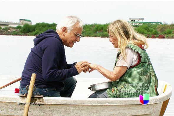 ¡Qué sorpresa doña Rita! Don 'Chacharitas' le pidió matrimonio.