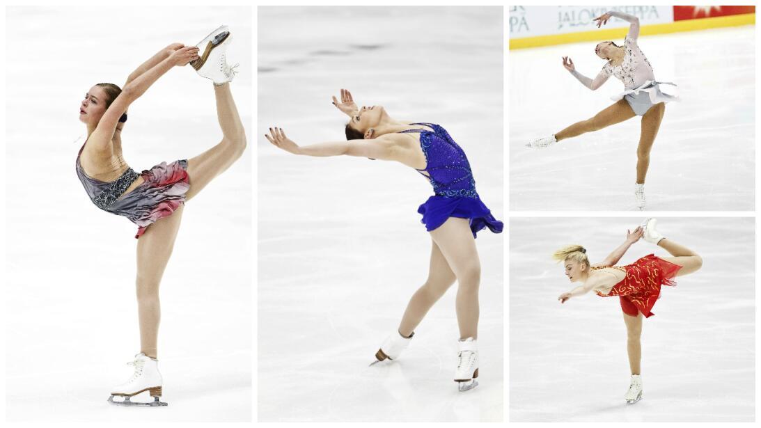 Belleza y capacidad en el patinaje artístico sobre hielo en Finlandia Ge...
