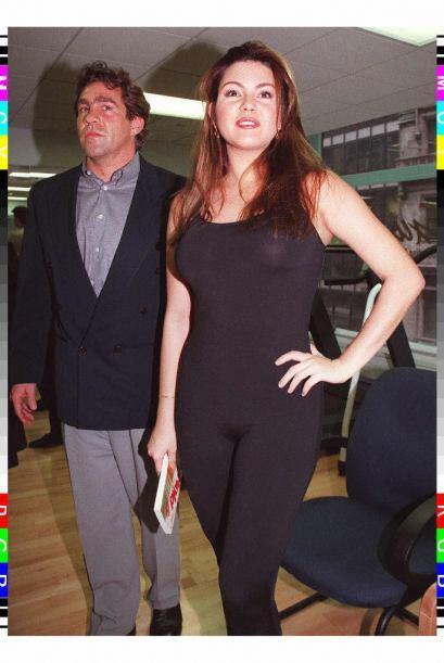 Alicia Machado ha confesado que tiende a subir facilmente de peso, aquí...