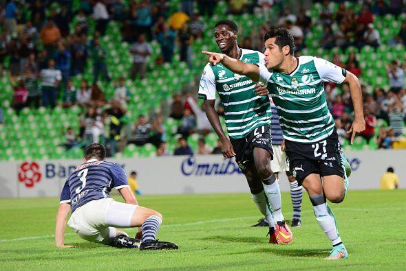 Javier Orozco, el delantero del Santos apenas comienza a tener la regula...