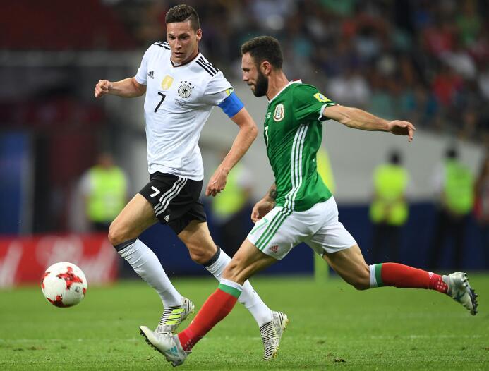 Uno a Uno: A detalle los 22 protagonistas del Alemania vs. México 003 Mi...