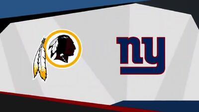 Previo del Washington Redskins vs New York Giants