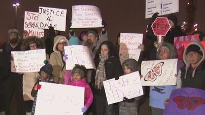 Con masiva protesta, piden libertad de un padre jamaiquino detenido por ICE en Nueva Jersey