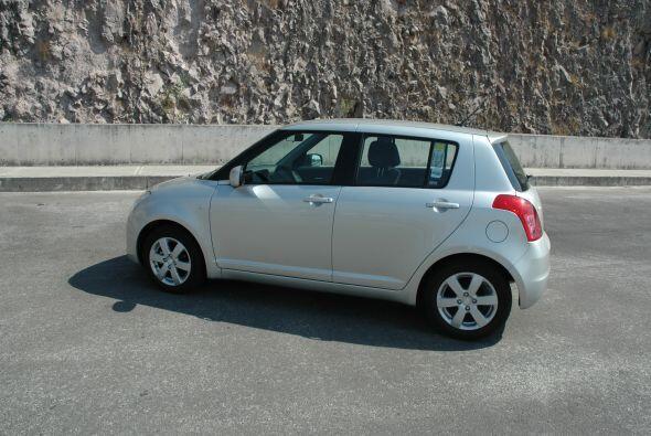 El Swift sigue con la tradición de la marca japonesa de crear autos comp...