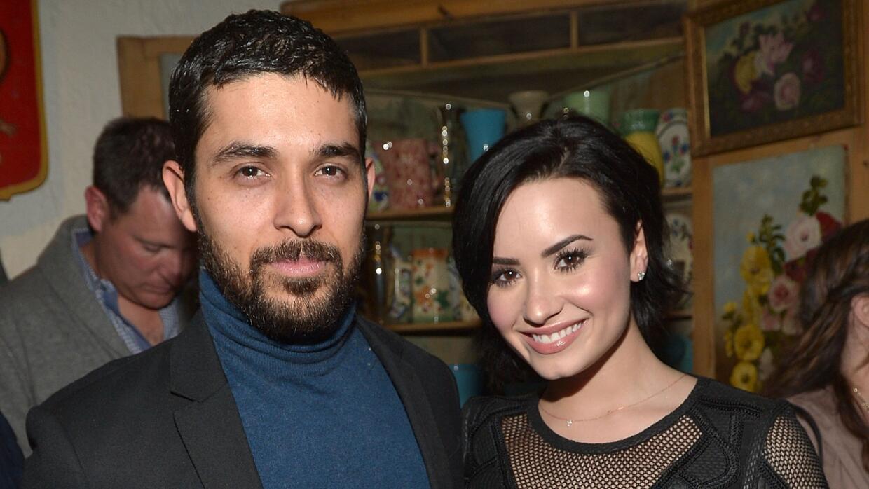 Wilmer y Demi Lovato