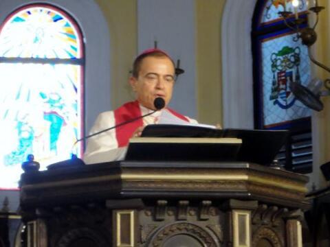 """La catedral del Viejo San Juan""- escribió @damarisstgo..."