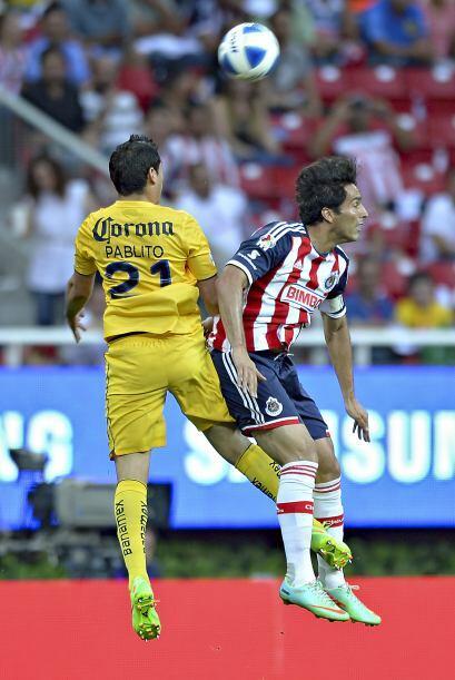 Pablo Aguilar acumula 3 goles en el torneo, por lo que Chivas tendrá que...