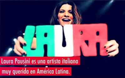 Laura Pausini, la italiana más querida del pop latino
