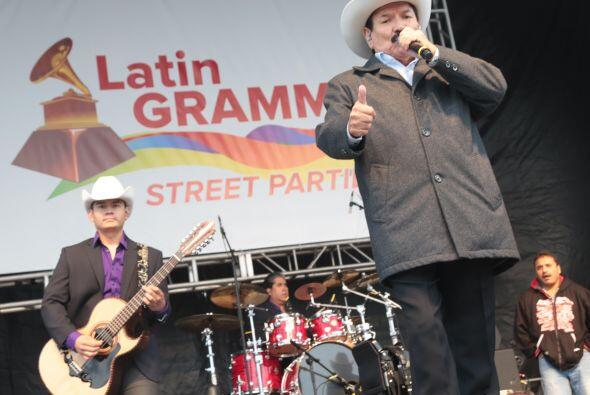 Latin Grammy Street Party chicago