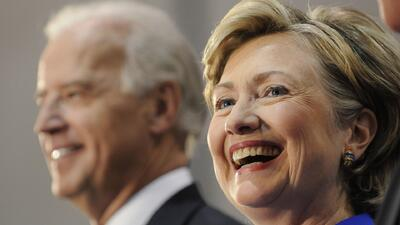 Joe Biden obstaculizaría camino de Hillary a la Casa Blanca