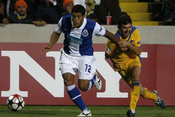 El Oporto aseguró su pase a octavos de final gracias a su vitoria 1-0 an...