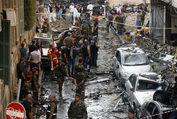 El atentado perpetrado este viernes en un barrio cristiano de Beirut que...