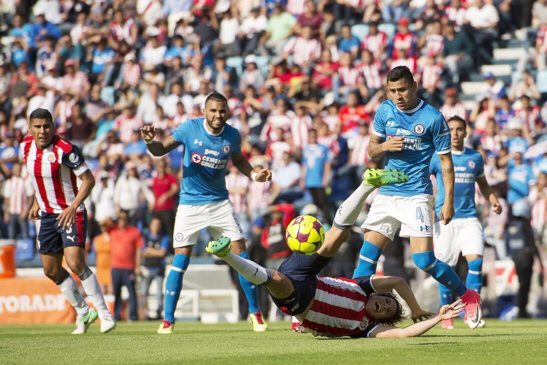 ¡Funcionó la Bruja! Cruz Azul venció 2-1 a Chivas Julio Dominguez Cruz A...