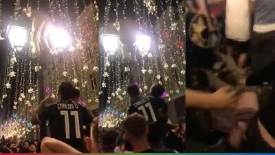 (Video) Fan del Tri cayó de hocico celebrando la victoria de México