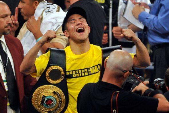 Jessie Vargas conquistó los cinturones wélter jr dela AMB...