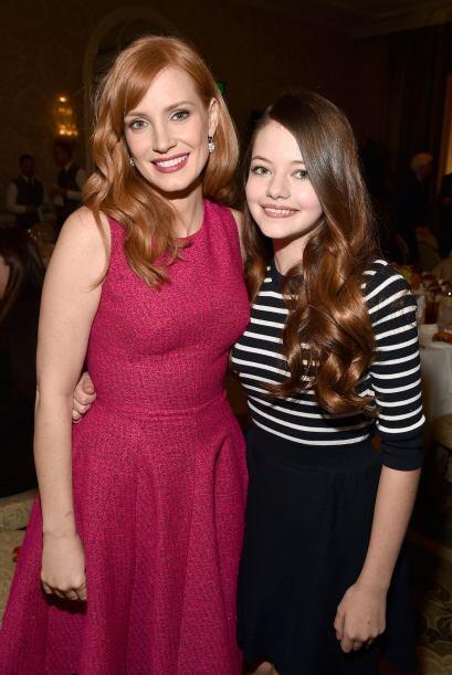 Jessica Chastain y Mackenzie Foy