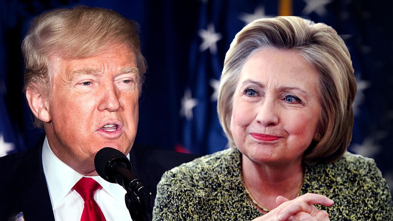 Trump y Clinton empatan en tres estados cruciales para las presidenciales