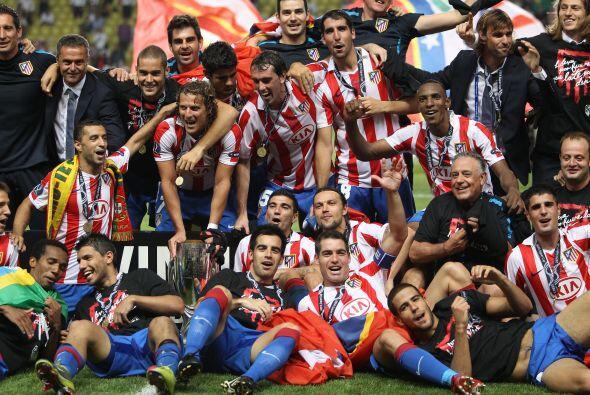 Fue más que destacado ver al Atlético de Madrid con una imagen similar a...
