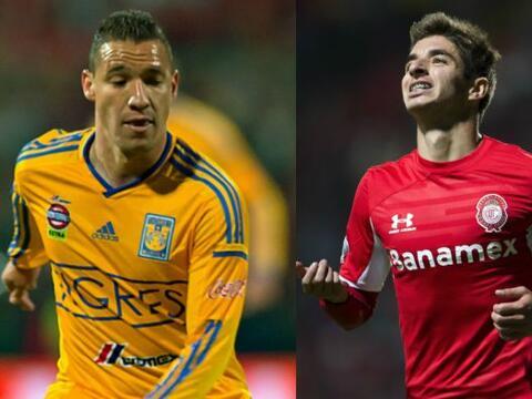Tigres y Toluca disputarán el boleto a la final en el juego de vu...