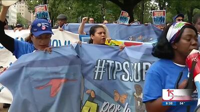 Caravana por la justicia TPS se acerca a Raleigh