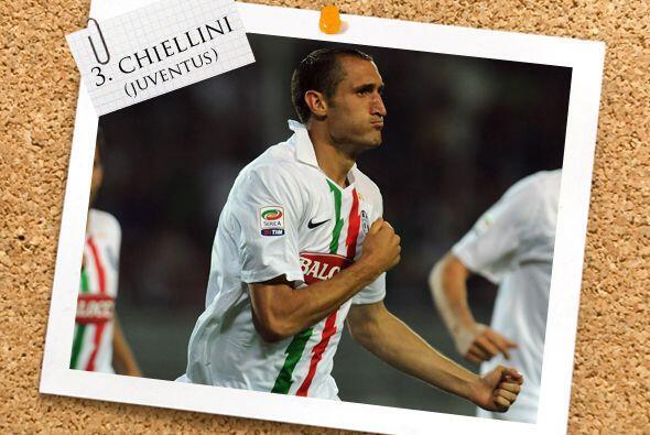 Giorgio Chiellini terminó bien el ciclo futbolístico e la Serie A.