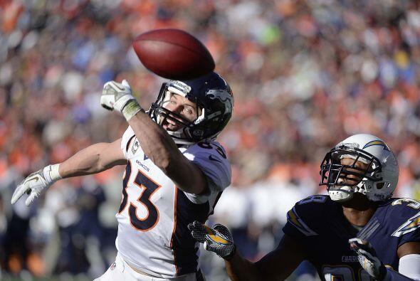 Los Chargers quedan aún por detrás de los Broncos en la Oeste AFC con 4-...