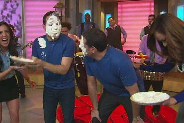 Alan y Raúl pidieron clemencia a las chicas, pero éstas lo...