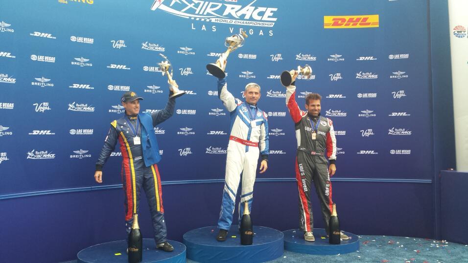 El británico Paul Bonhomme se proclamó campeón en el Red Bull Air Race e...
