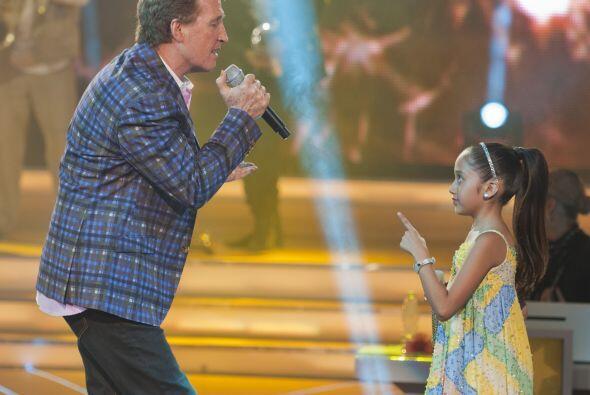 La pequeña demostró que no quiere abandonar la competencia, echándole mu...