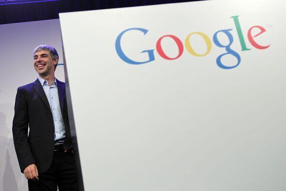 Y en el cuarto lugar quedó Larry Page, uno de los fundadores de G...