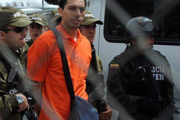 El empresario colombiano David Murcia Guzmán se declaró cu...