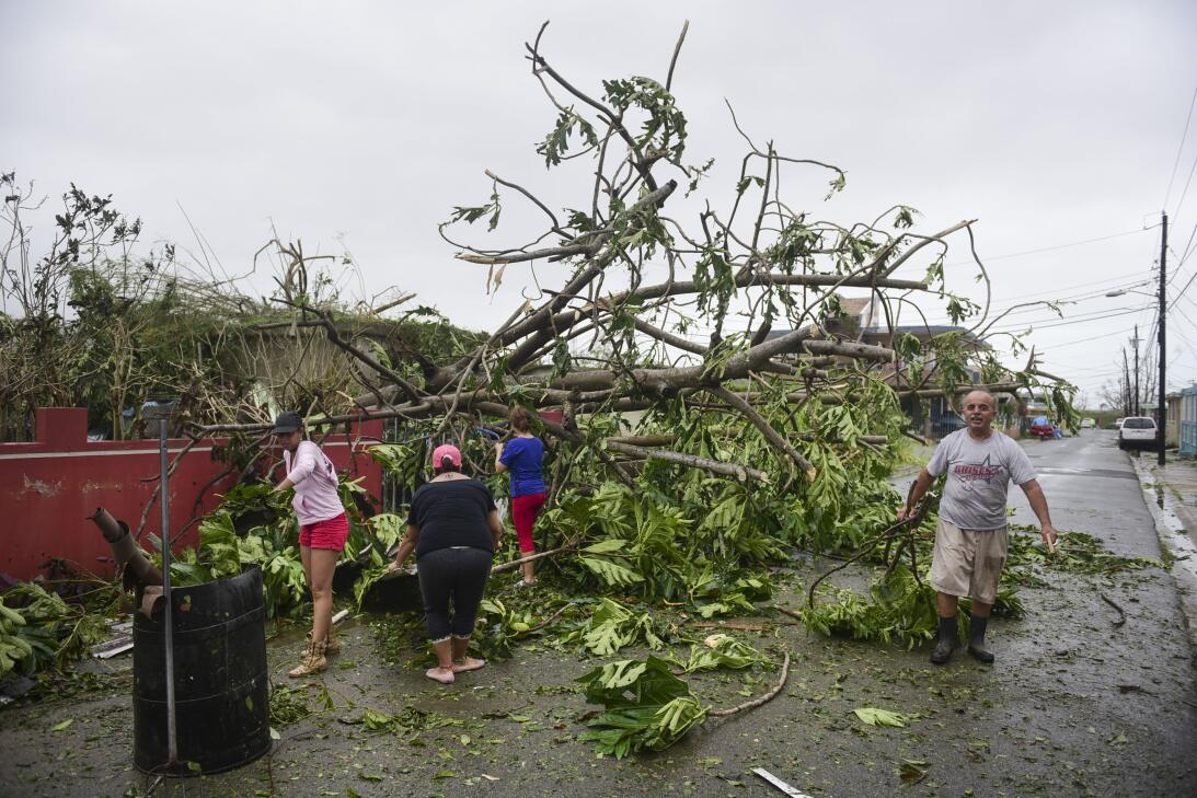 En Fotos: El huracán María se aleja de Puerto Rico, esto es lo que dejó...