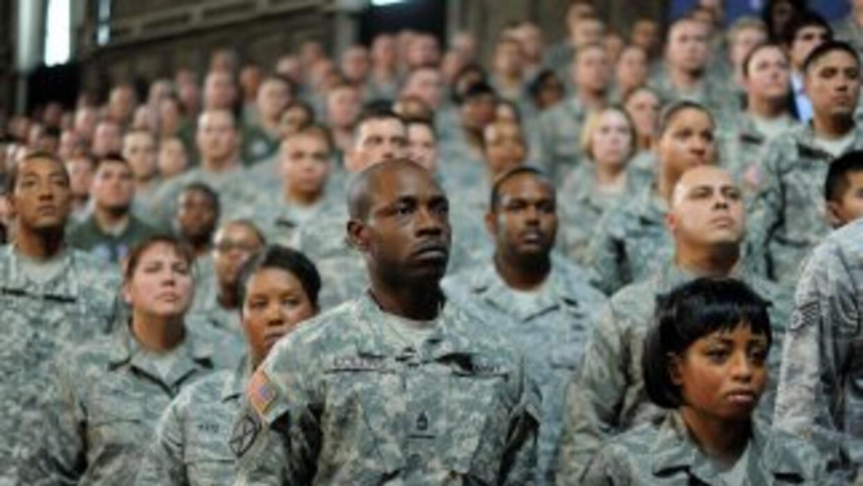 Aunque finalice la misión de combate, las tropas estadounidenses tendrán...